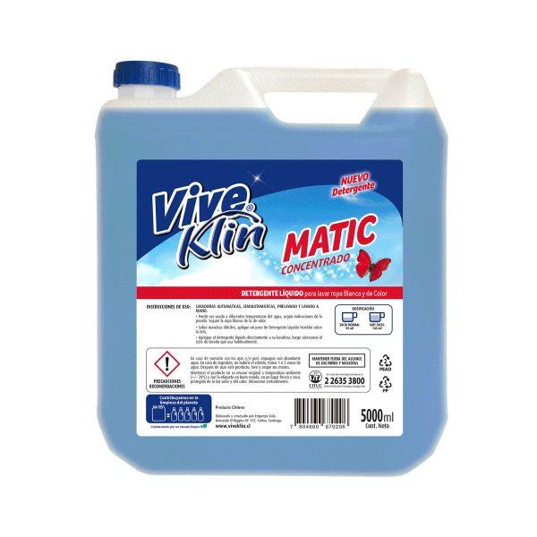 Detergente líquido matic 5 litros